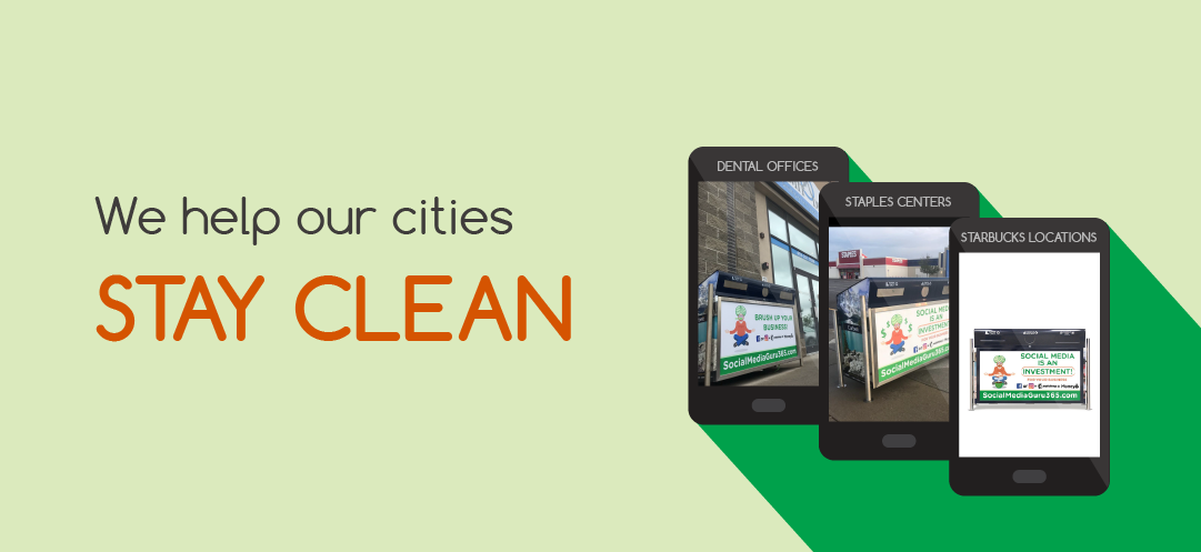 We help our cities stay clean